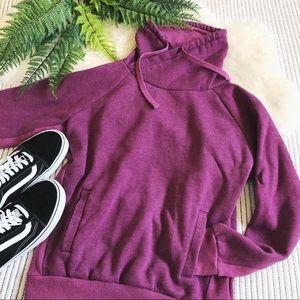 Tops - PrAna Gotu Pullover Sweatshirt Pink Violet Orchid